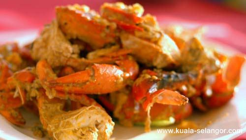 Fried Crab with Salted Egg