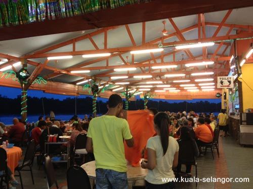 inner View Of River View Seafood Restaurant Kuala Selangor