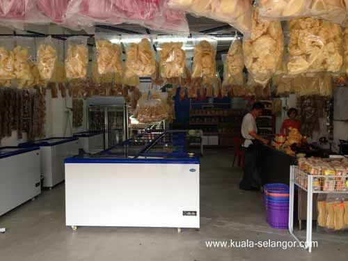 Front View Of Satu Enam Lapan (168) Frozen Food Trading