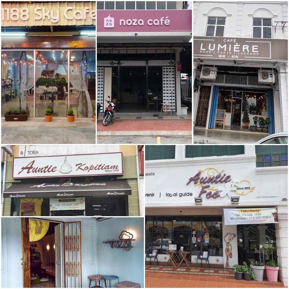 Cafe in Kuala Selangor