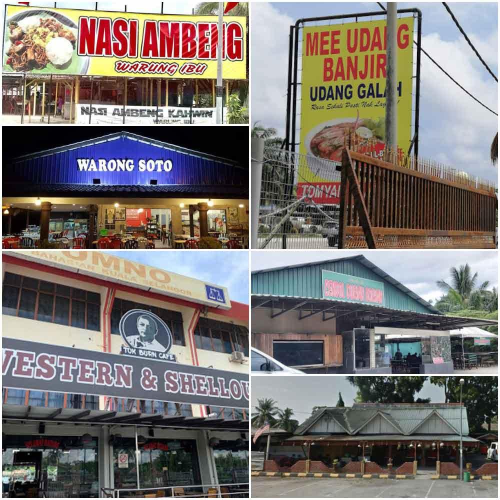Malay or Muslim Restaurant near to Kuala Selangor