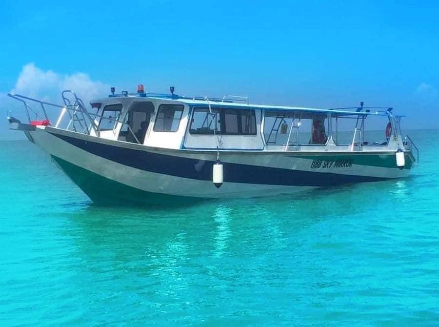 1188 Sky Mirror Boat